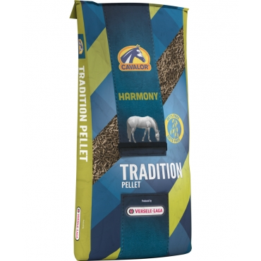 Cavalor Tradition Pellet, efort usor, Versele Laga, 20 kg