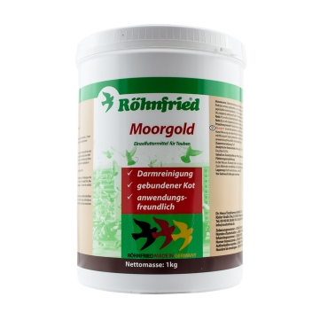 Moorgold Rohnfried 1 kg, supliment namol carbonifer