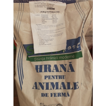 Furaj natural unic animale de ferma, Salvafort, 10 kg