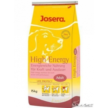 JOSERA CAINE HIGH ENERGY (P30/G21) 15 KG