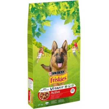 FRISKIES ACTIVE DOG 15 KG