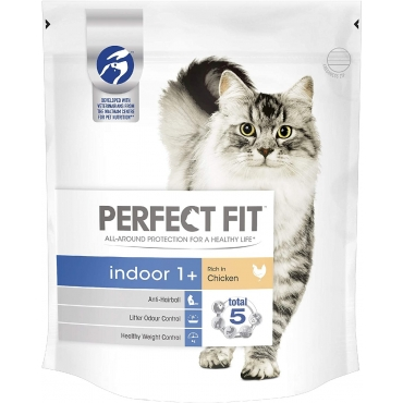 Perfect Fit Indoor 750 gr, hrana uscata pisici de interior, gust de pui