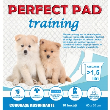 Covorase absorbante Perfect Pad, 60x60 , 10 BUC