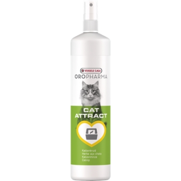 Spray marcare teritoriu pisica cu iarba matei Oropharma Cat Attract, Versele Laga, 200 ml