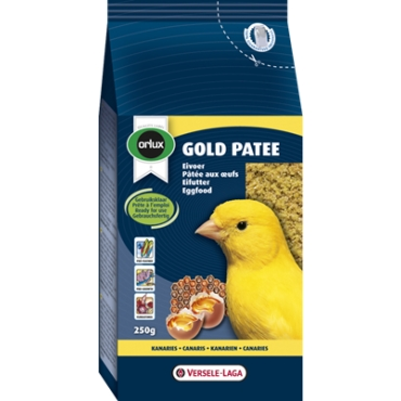 Gold Patee Yellow Canaries 250 gr