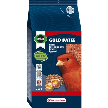 Gold Patee Red Canaries