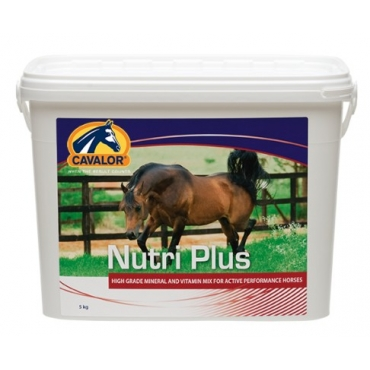 NUTRI PLUS(supliment destinat cailor sport) 5 KG.