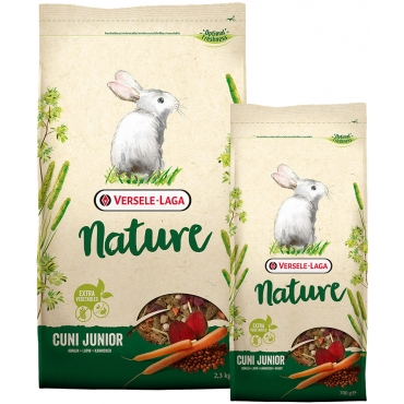 HRANA ROZATOARE CUNI JUNIOR NATURE 2,3 KG